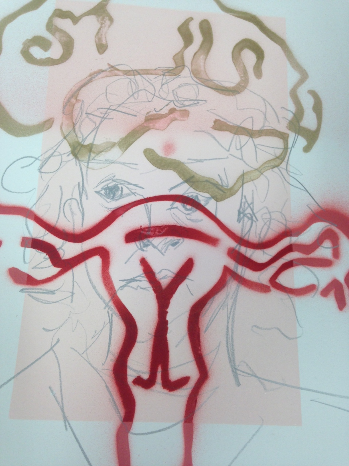 self portrait with uterus.JPG