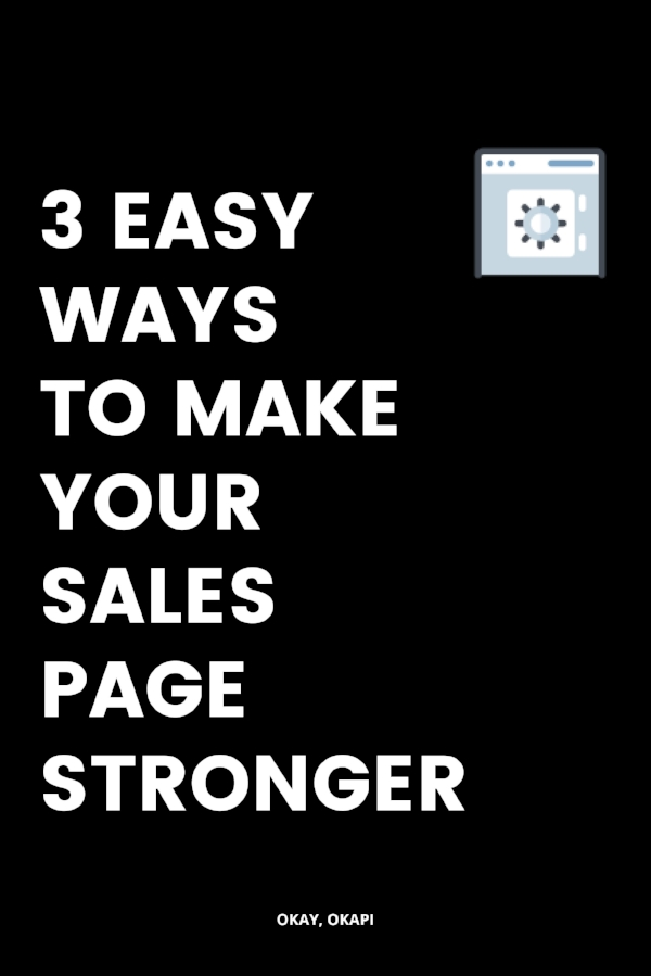 3 easy ways to make your health and wellness sales page stronger without rewriting the entire thing or starting from scratch