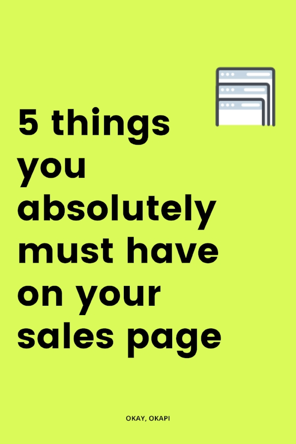 Staring at a blank page is overwhelming, especially when you're trying to write something that's already challenging for most people. Like a sales page. But having an idea of what you need before you begin helps. In this post, you'll learn the essential elements of a sales page so you never feel personally victimized by Blank Page Syndrome again.