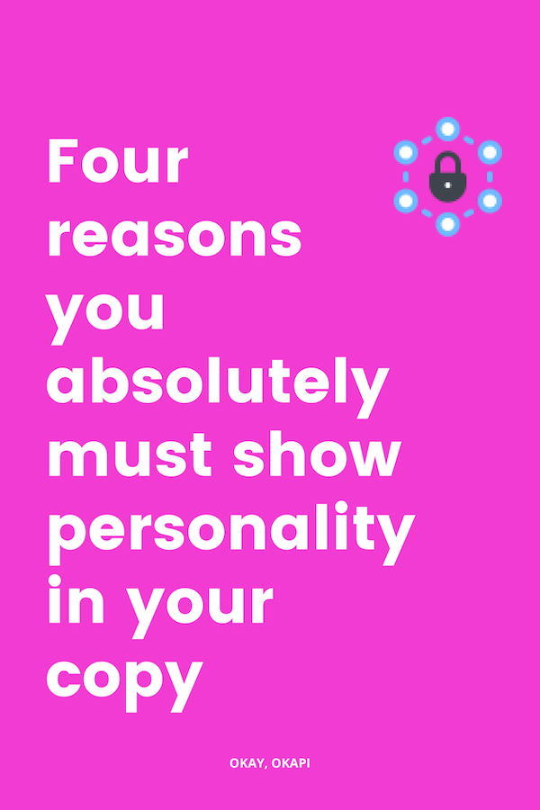 Blog graphic_four reasons you must show personality in copy.png