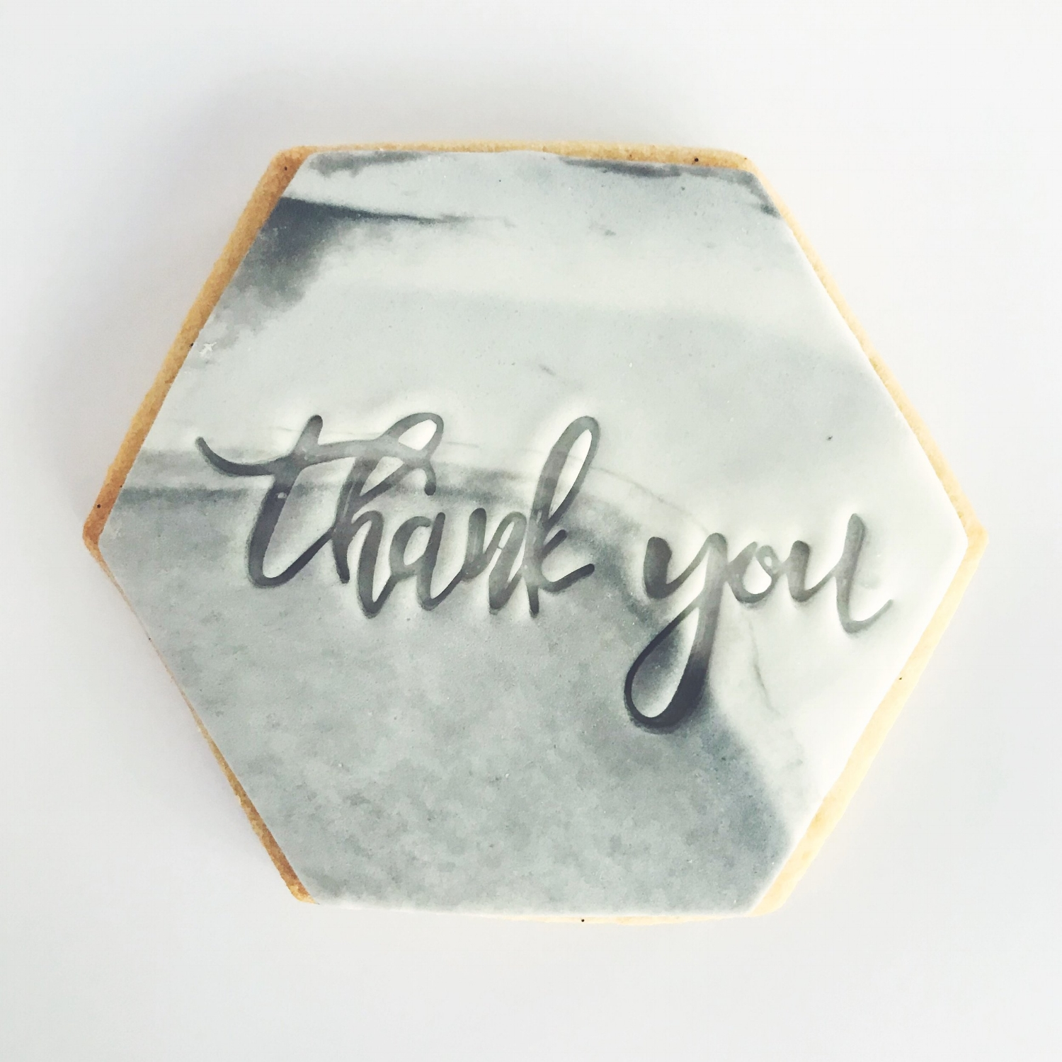 Thank you cookie favour