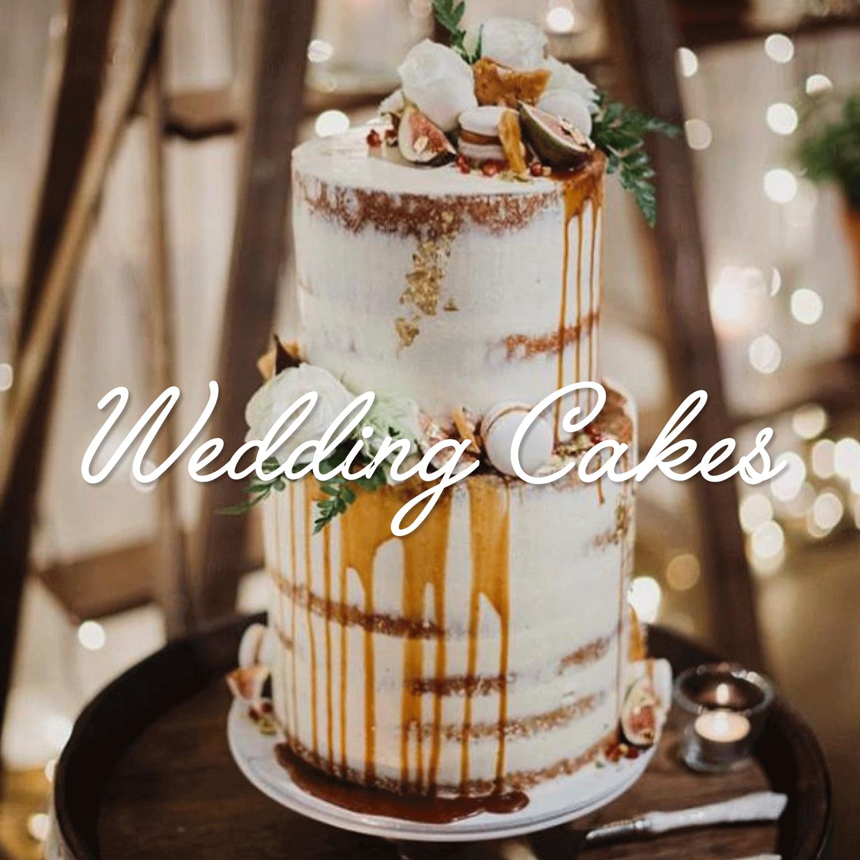 Salted Caramel Drip Wedding Cake