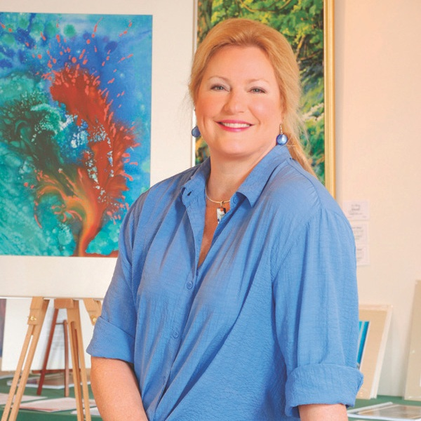 Raney Rogers  grew up in Durham, NC and majored in Art Education at East Carolina University. She moved to the mountains of NC in 1981 where she taught K-6 art for five years and then dedicated full time attention to her painting. She has been represented by galleries in NY and CA as well as the Southeast. She is also contributing her business and art expertise to lead the opening of the smART Gallery on downtown Queen Street in March of 2019 as an exhibition hub for all of the smART artist participants.