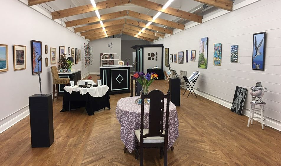 Visit the smART Gallery - Located at 210 N. Queen Street, our gallery showcases the work of our smARTists. Open Thursday - Sunday.