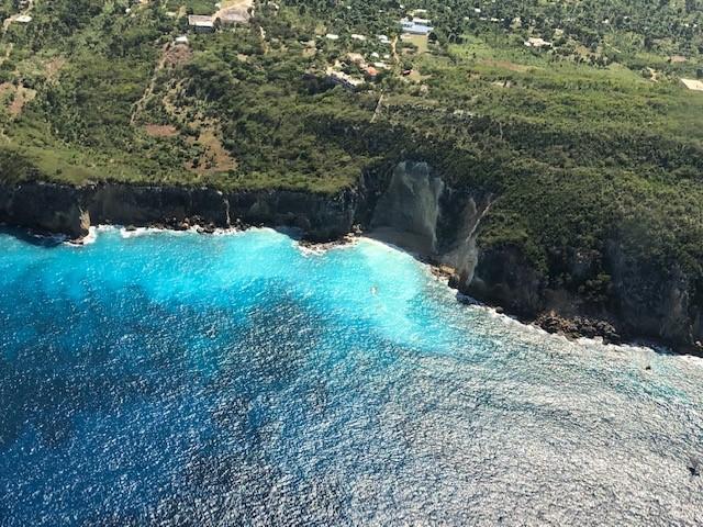 The breathtaking coast of southwestern Haiti