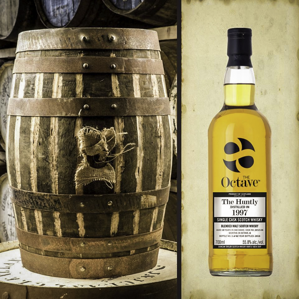 "SMALL CASK, BIGGER WHISKY- The Duncan Taylor Octave Story w/J Wheelock. MC-5 Friday Sept 13th, 2019 (7:00-8:00pm). - For upwards of 40 years the team at Duncan Taylor has experimented by maturing whiskies in smaller casks with great success and now this multiple award winning Octave series is coming to the Banff Whisky Experience. The simple premise that there is more wood interaction with whisky over a shorter period of time in a small cask than in a large cask, therefore allowing a more rapid melding of wood, air and alcohol. The Octave Collection is extensive with something for all tastes, be it a single malt, a single grain or a blended malt whisky. The Octave series will be complimented by the Rare Auld Grain Collection. This outstanding range of single grain whiskies from across the length and breadth of Scotland is bottled from single casks at cask strength. These unique whiskies are testament to the diversity and influence of individual casks, offering unrepeatable expressions from both renowned and lesser known distilleries all over Scotland. The Rare Auld Grain expressions from Duncan Taylor are considered by many as ""whisky without compromise"".EDUCATOR BIO: With 20-plus years in the industry, J. has worked with some of the top whisky brands & devoted many hours to learning about the ever-evolving world of cask-aged brown spirit. J. is also responsible for connecting his brands with people in the spirits trade, from staff at some of the country's top bars and white table clothed-restaurants, all the way to swanky speakeasies and stalwart pubs. ""Some just want the basic knowledge in order to enhance their sales abilities. Others want to get to the heart of the brands and become ambassadors in their own right. The range of what is available in Canada is the best it has ever been and we are rapidly becoming a destination for consumers and collectors alike."" It's important to add that J. is quickly becoming Alberta's favourite whisky rep. With a sharp tong and his hilarious personality, we are always exited to have J. as a partner!"