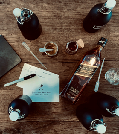The Art of Blending - A Masterclass by Johnnie Walker w/Dante Raphael. MC-14 Saturday Sept 14th, 2019 (4:30-5:30pm). - Become the Master of your own scotch whisky blend in this interactive Johnnie Walker workshop. Learn about the intricate process of blending scotch whiskies and what it takes to make the world's best-selling whisky. Work alongside a team guided by a Johnnie Walker brand ambassador to create your own Johnnie Walker Private Label blend, utilizing premium Single Malts such as Cardhu, Oban and Talisker!EDUCATOR BIO: Dante's never-ending thirst for knowledge serves him well as the National Reserve Consultant for Diageo Canada, traveling and educating people cross-country. From spirited dinners to trade show master classes, Dante seizes every opportunity he can to share his passion for the world of whisky.