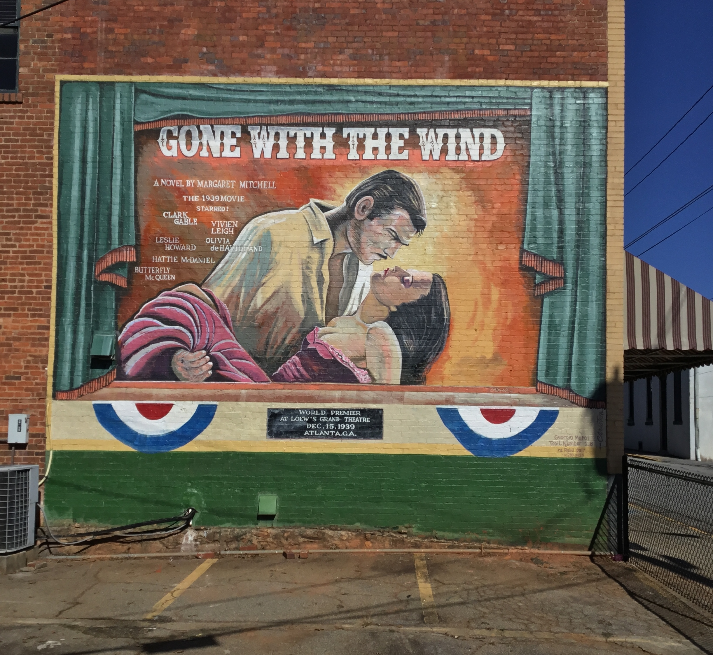 This is a mural that we restored do after years of fading. This mural is in the city of Washington, Ga. Re painted in November 2017.