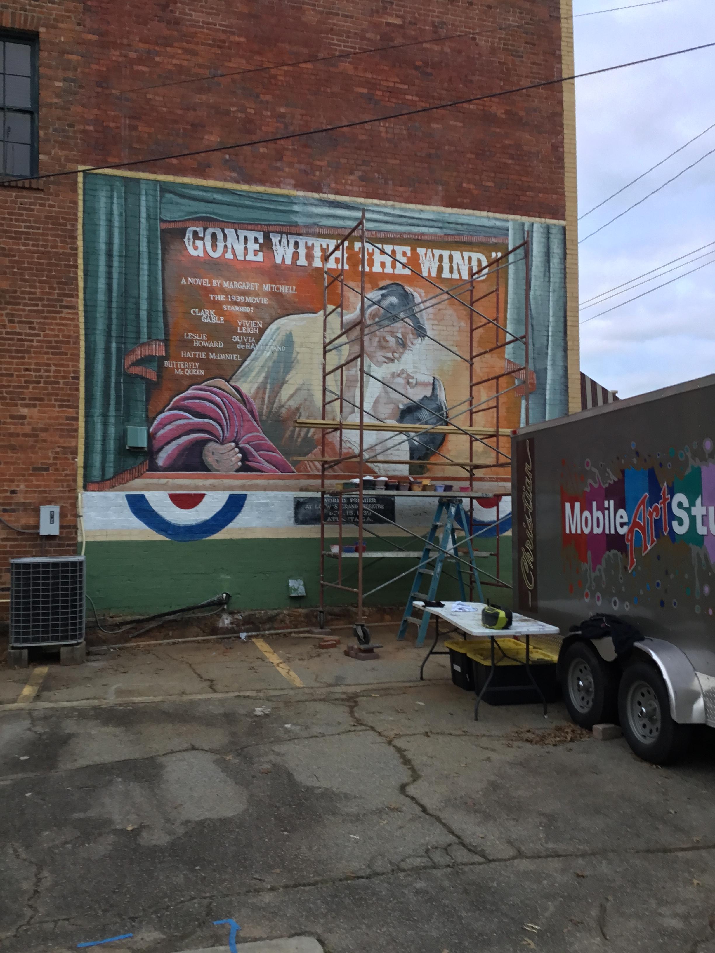 Work in progress in Washington, Ga.