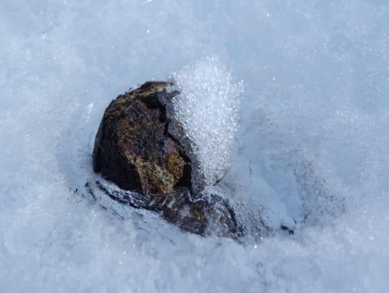 ON THE HUNT FOR ANTARCTICA'S HIDDEN METEORITES - THE ATLANTIC