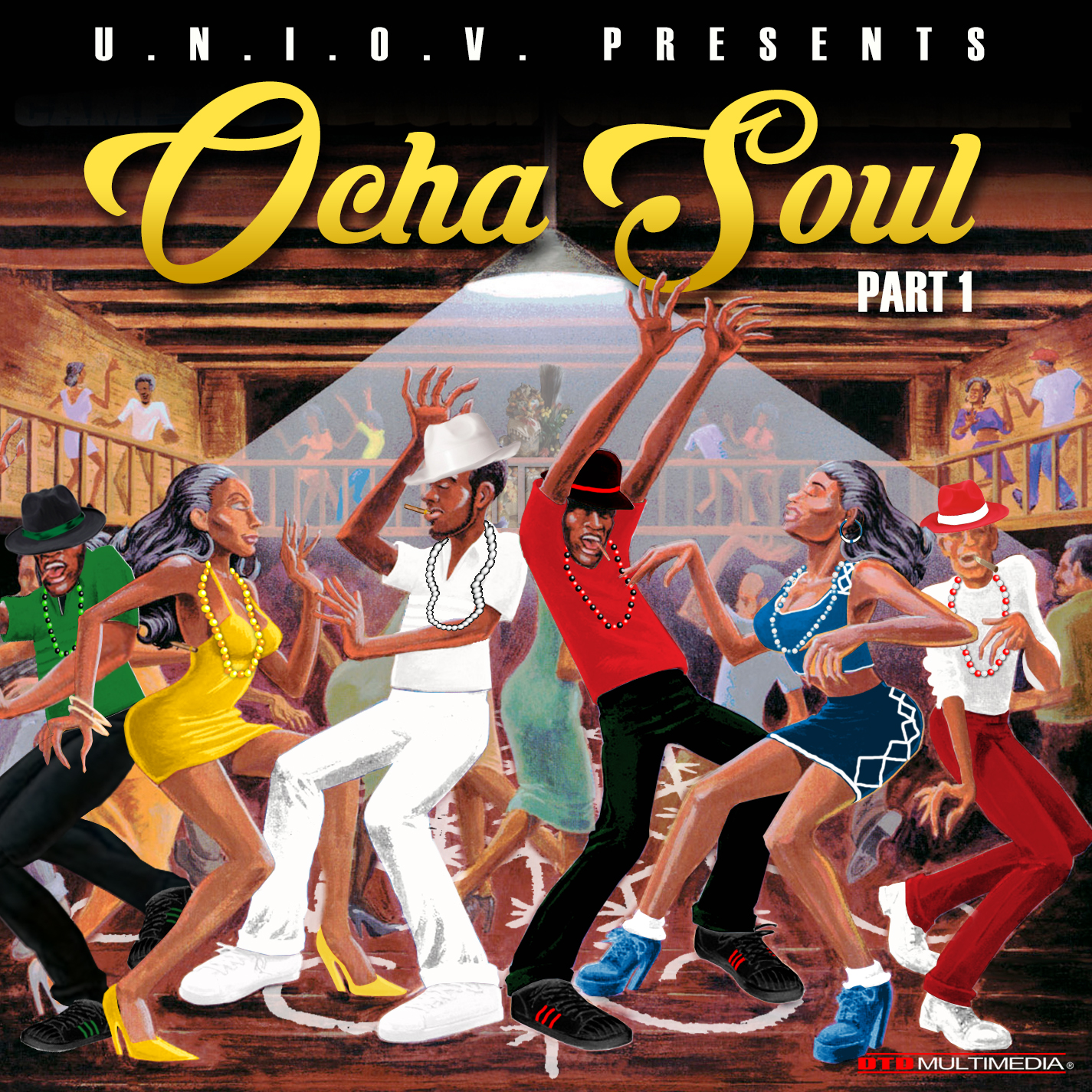 UNIOV Presents Ocha Soul Part 1 LP (2018)    Afro-Cuban Orisa music blended with deep soulful melodic chords and rhythmic percussion and vocals. This album is driven by the ancestral voyage through love, focus, and determination to the ultimate reality. We call it Orisa Our Way.    Produced by DJ Oba for Ifa Music Group LLC. Vocals & Vocal Arrangement by Oba and Olori    Album artwork by DTD Multimedia     AVAILABLE NOW on      CD Baby     , iTunes, Spotify,      Tidal      & more.