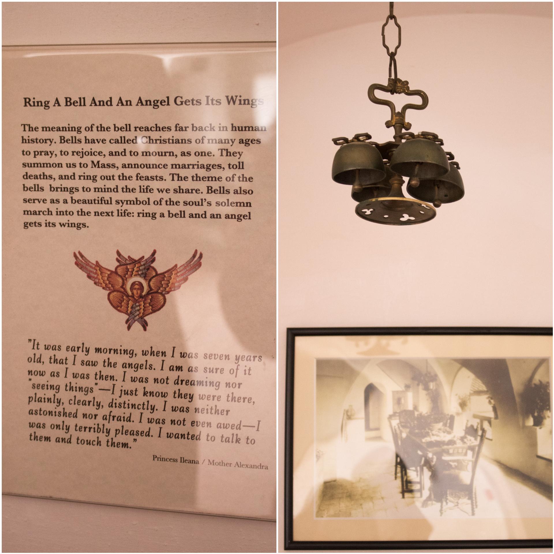 Zvona za anđele na terasi zamka