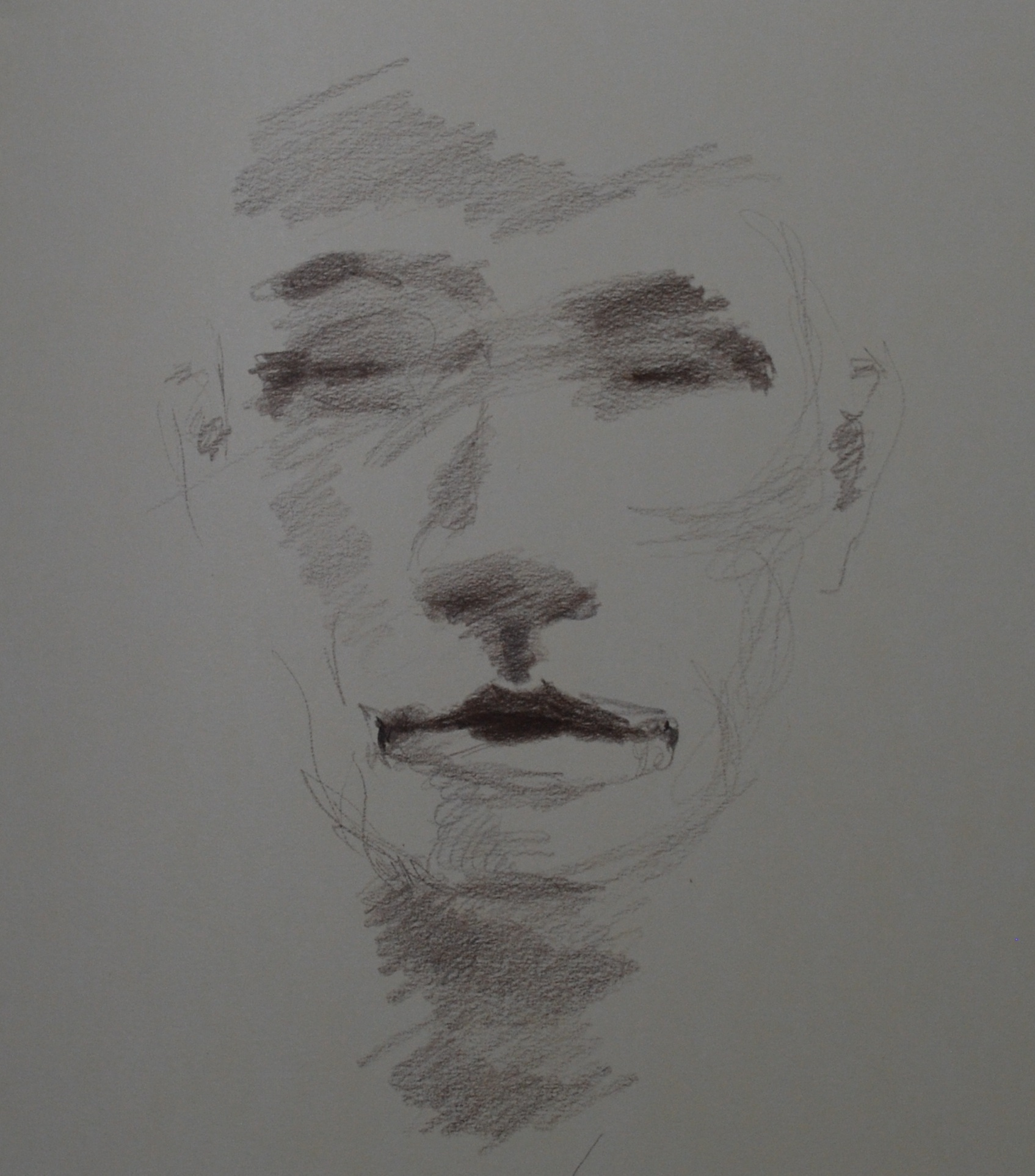 "(colored pencil in sketchbook)   11"" x 14"""