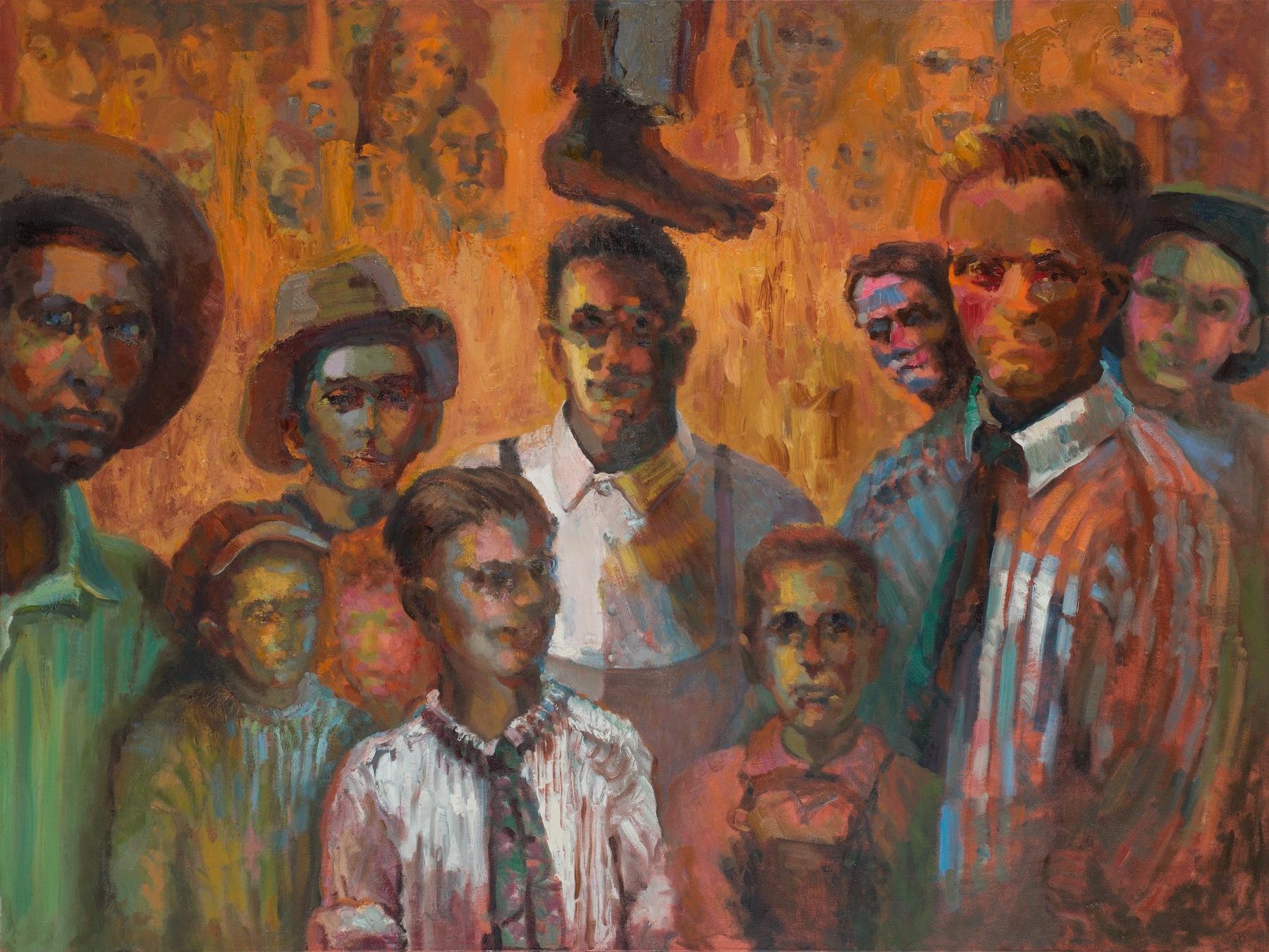 bottom canvas:  we were never children like your children