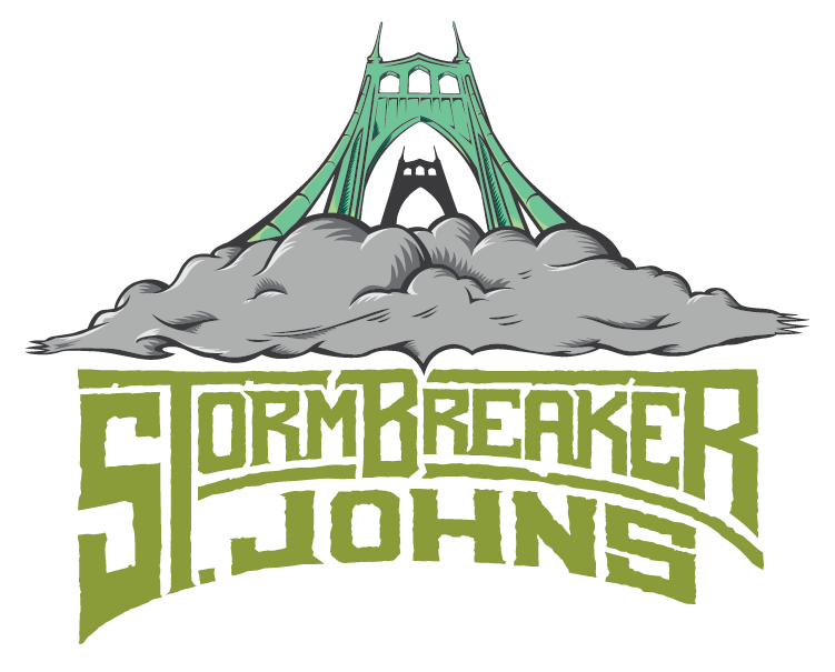 We are located inside StormBreaker Brewing St. Johns - 8409 N Lombard St. Portland, OR