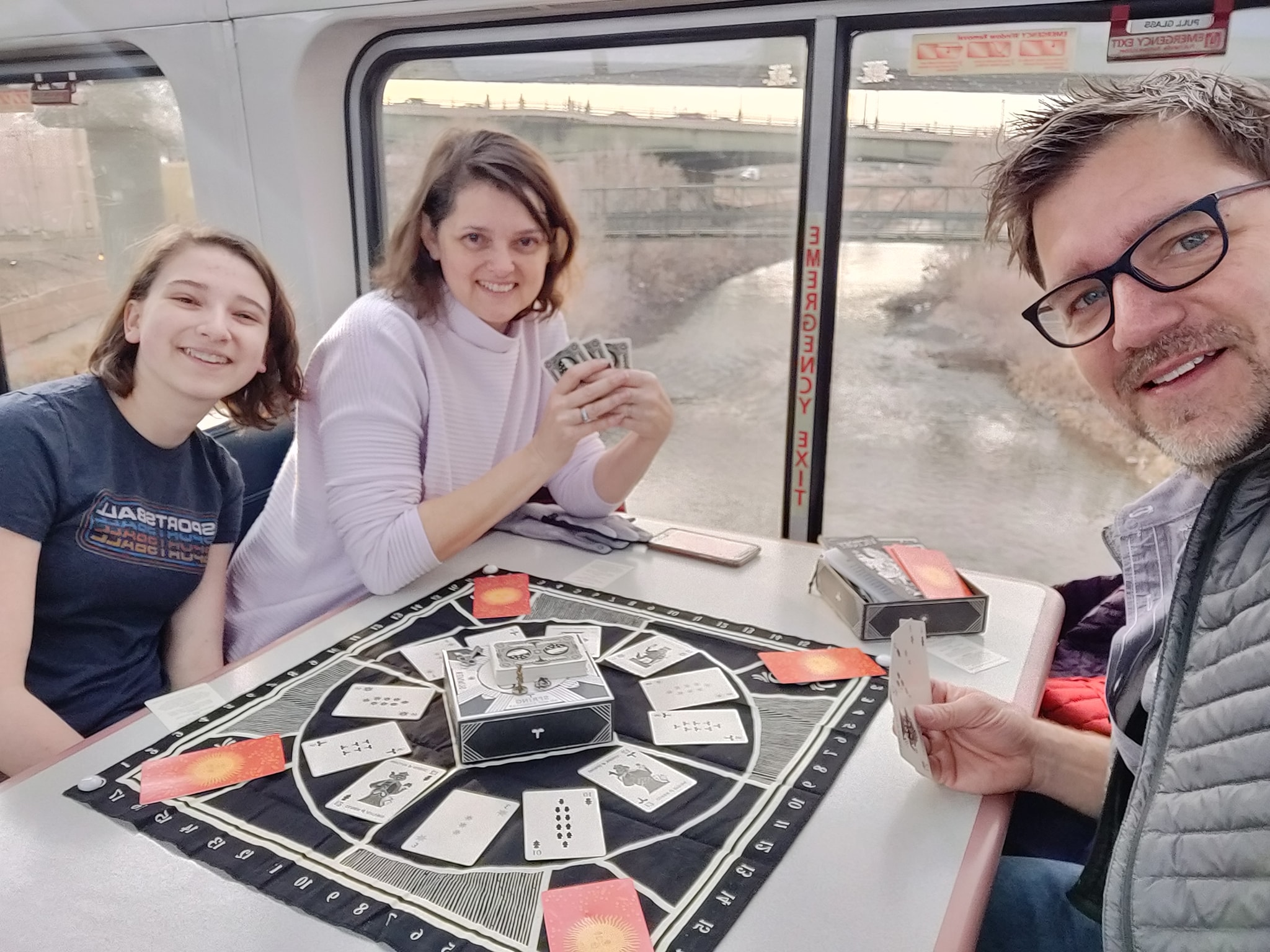 Illimat Players Facebook group member Donald Koenig with his family.