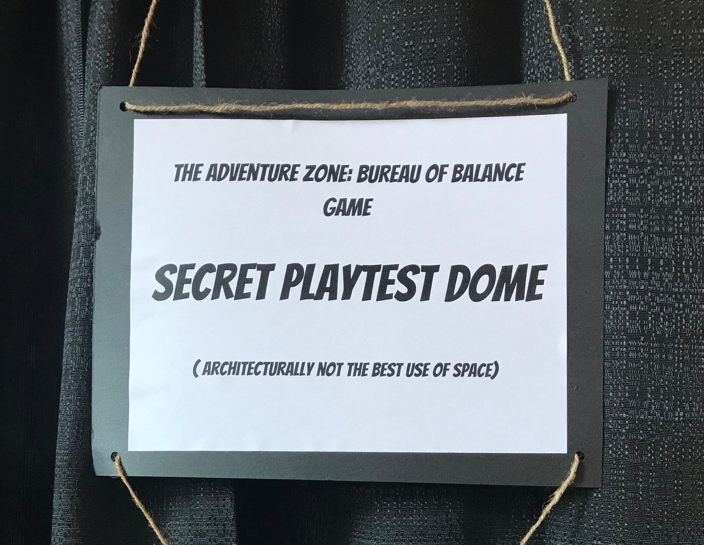 The playtest dome at xoxo fest 2019- thank you playtesters!