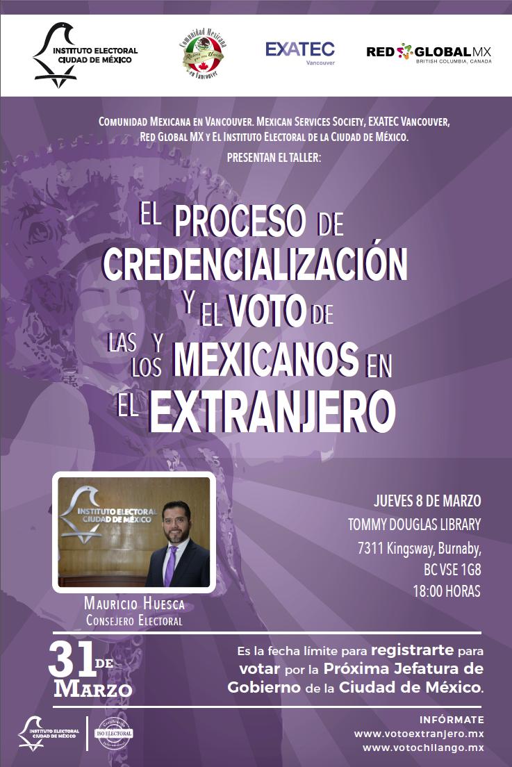 voto mexicano en el extranjero redglobalmxbc