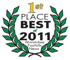 1st Place Best of 2011 Ahwatukee Foothills News