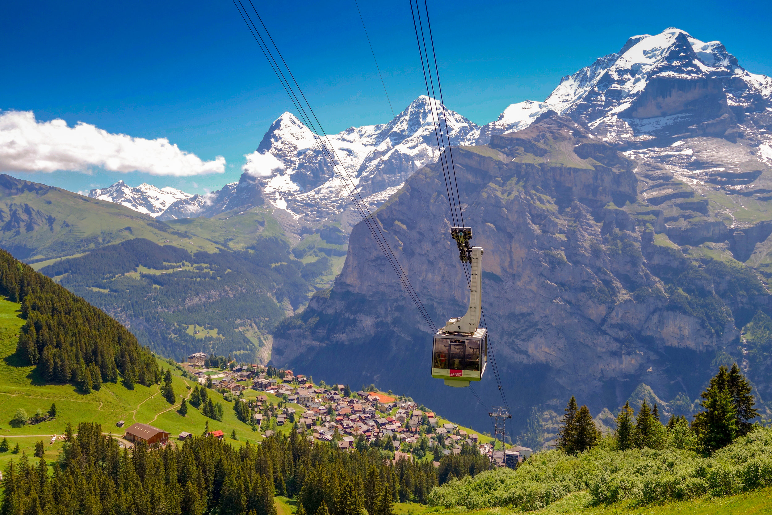 Perfect Day in the Perfect Alpine Town: Gimmelwald