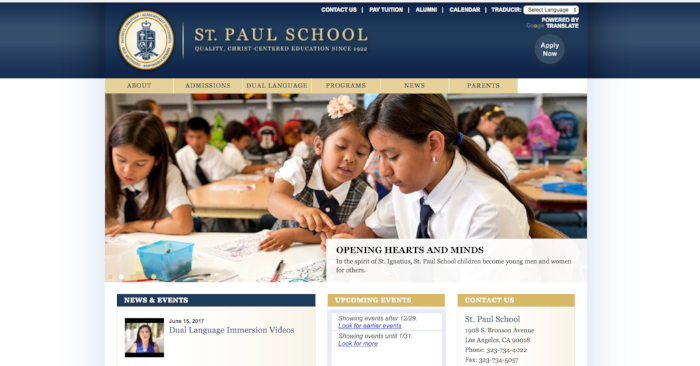 People Based Marketing - An article series for the Los Angeles Archdiocese on its dual language immersion program in elementary schools.