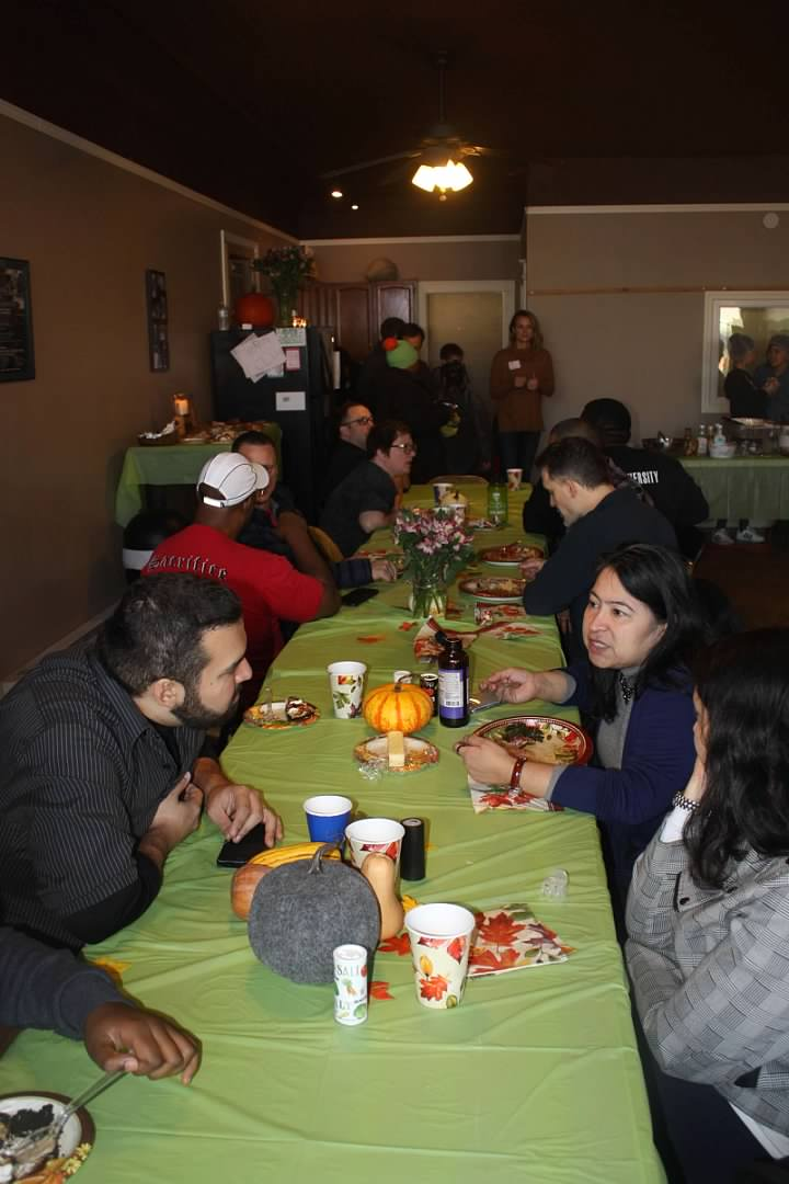 Thanksgiving Dinner at 441 Ministries with New City Fellowship 2018