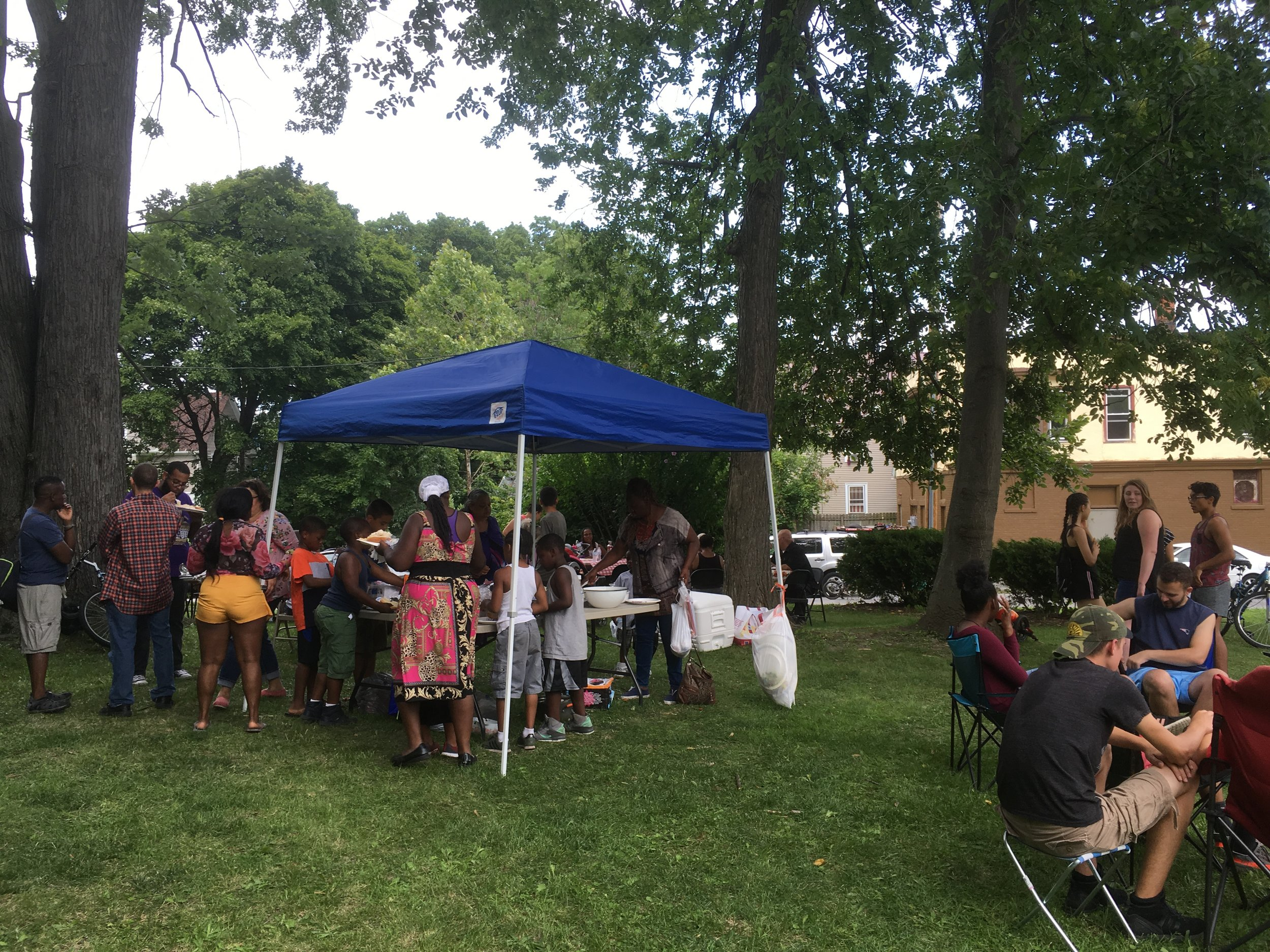 441 Ministries/New City Fellowship Picnic at 441's Community Garden August 2018