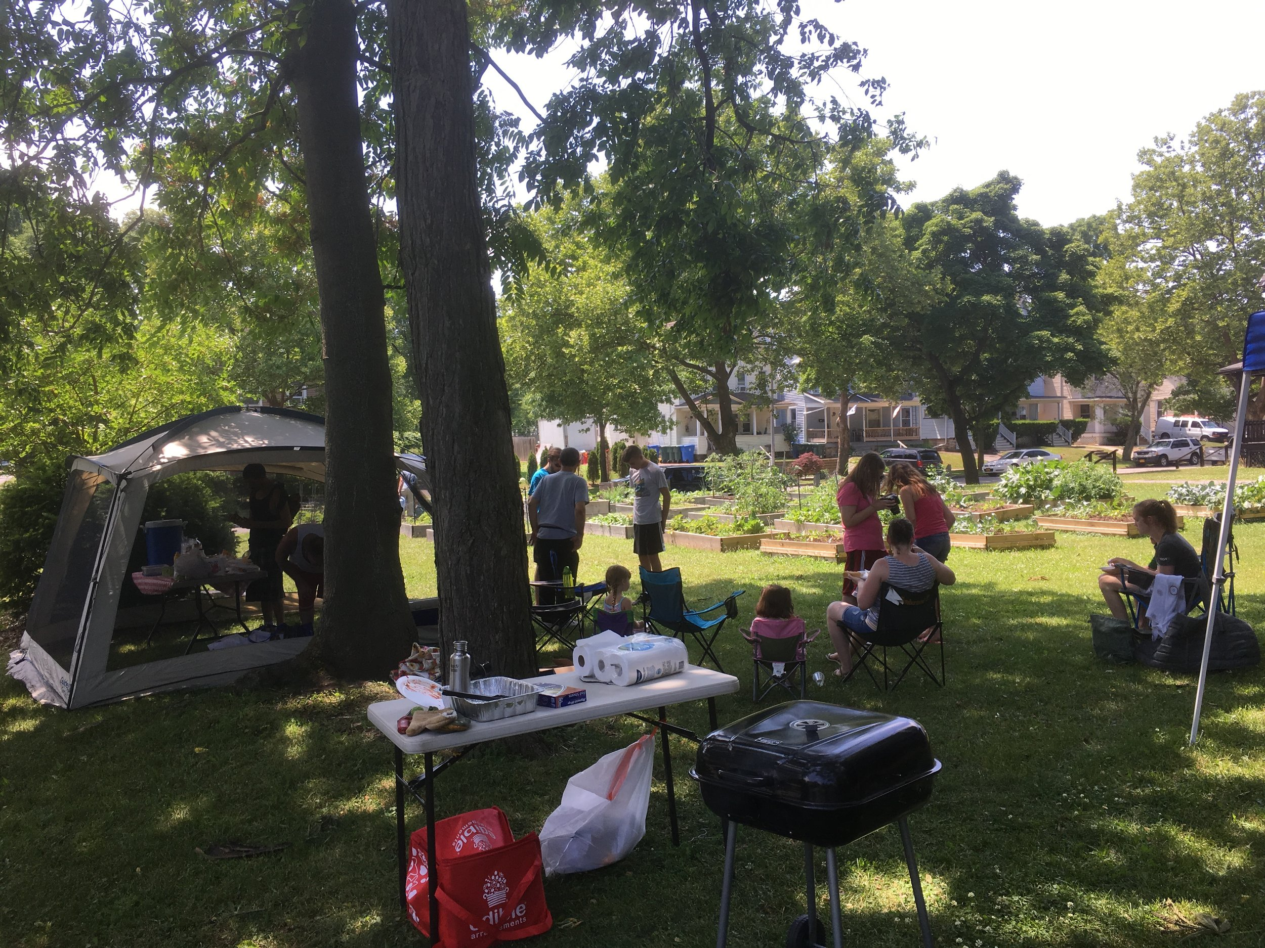 Community Picnic with 441 Ministries & New City Fellowship at Community Garden June 2018