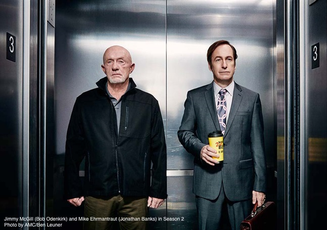 Better Call Saul image - Saul and Mike.jpg