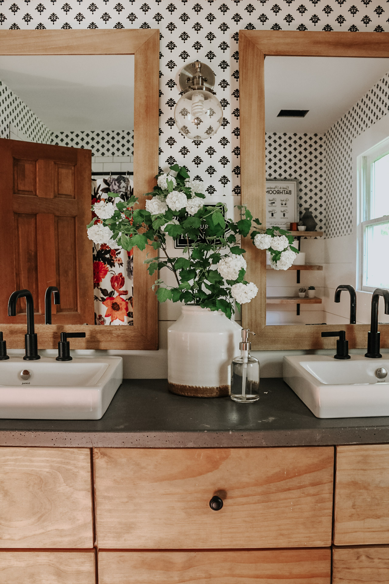 POTTERY BARN VANITY HACK — RHIANNON LAWSON HOME