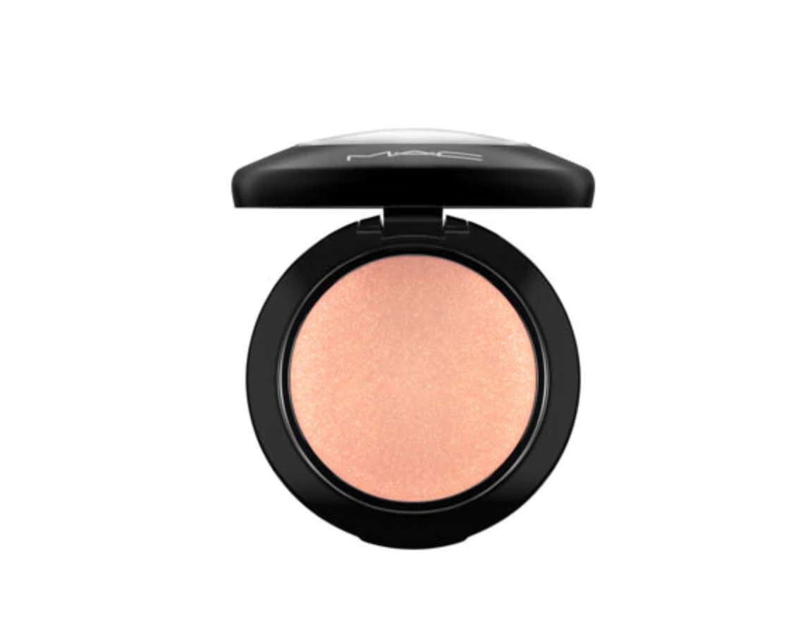 2. MAC mineralize blush - This blush has been my favorite since high school. It gives your cheeks a beautiful glow and adds a peachy/pink color.