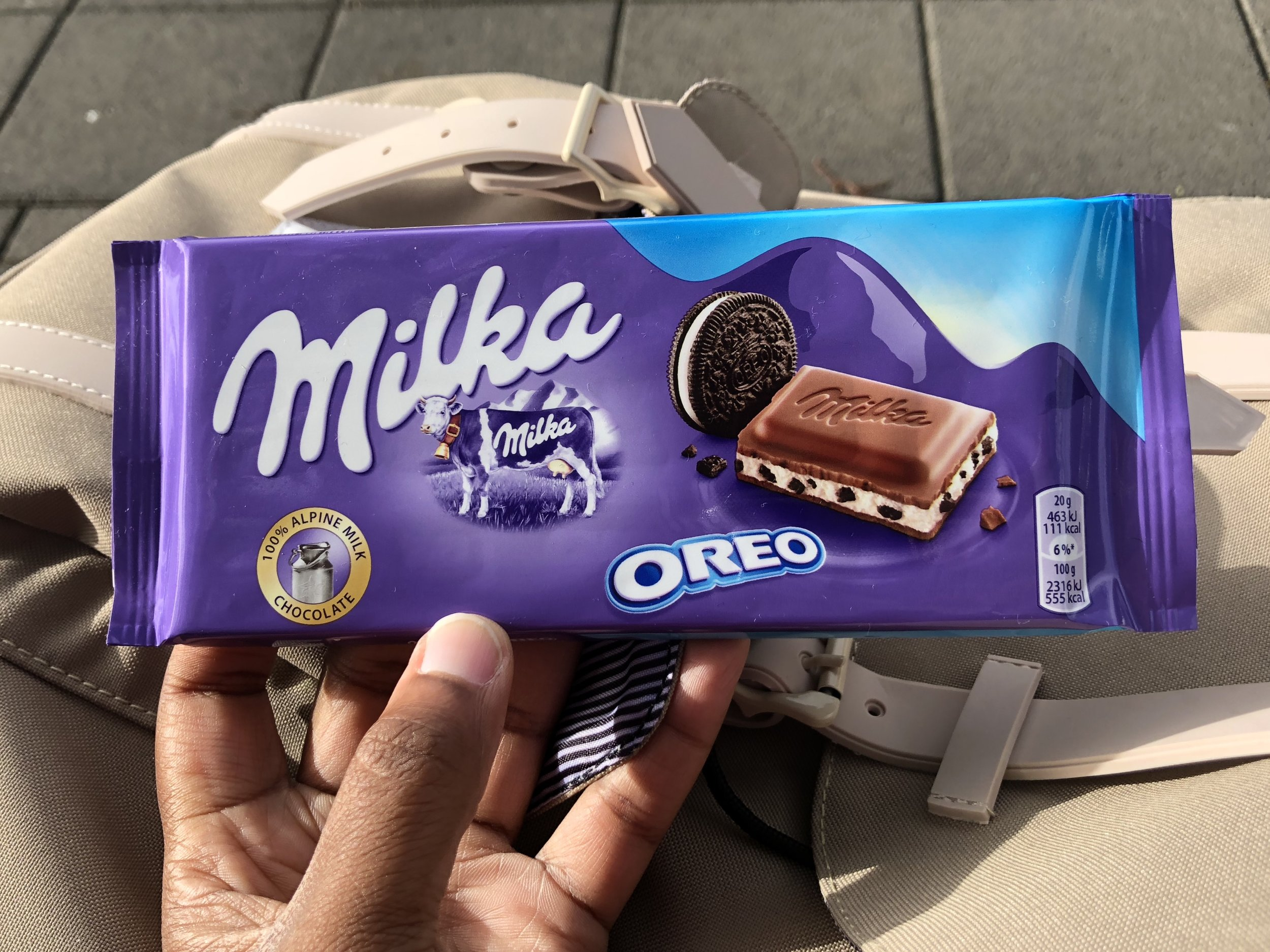 European chocolate