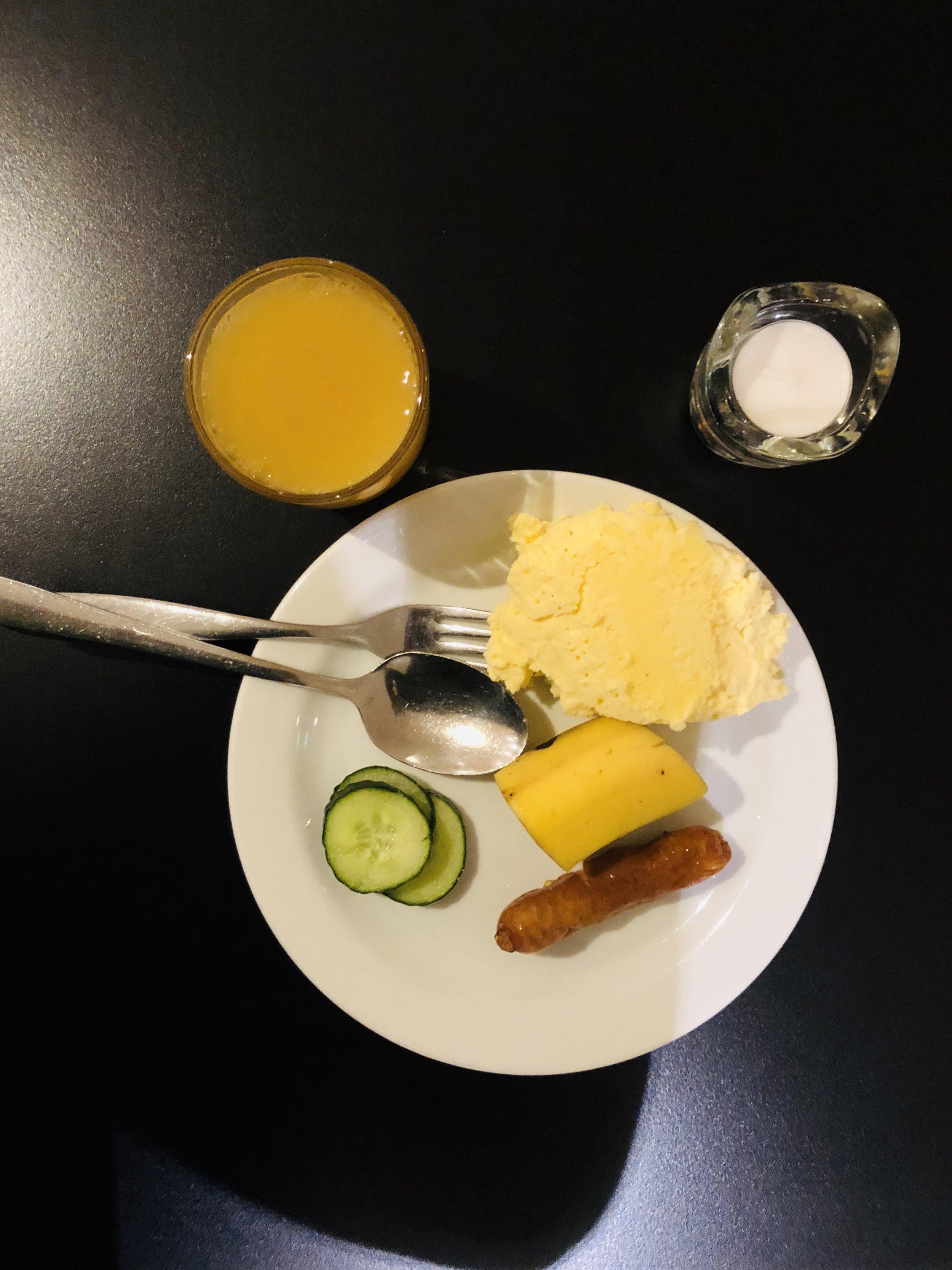 FREE  hotel breakfast
