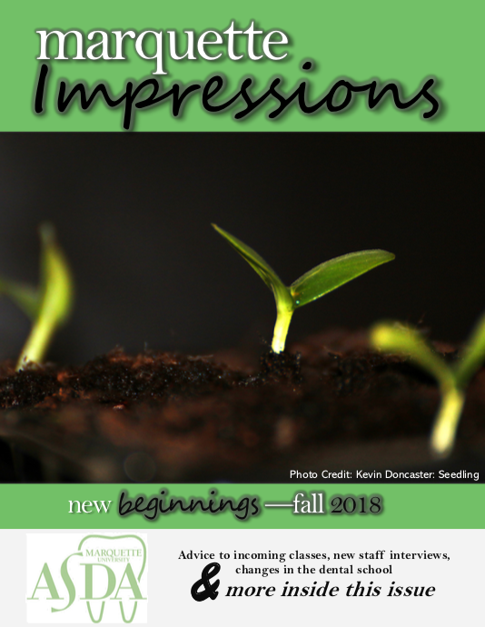 Fall 2018 - Incoming classes, new faculty members, and more!