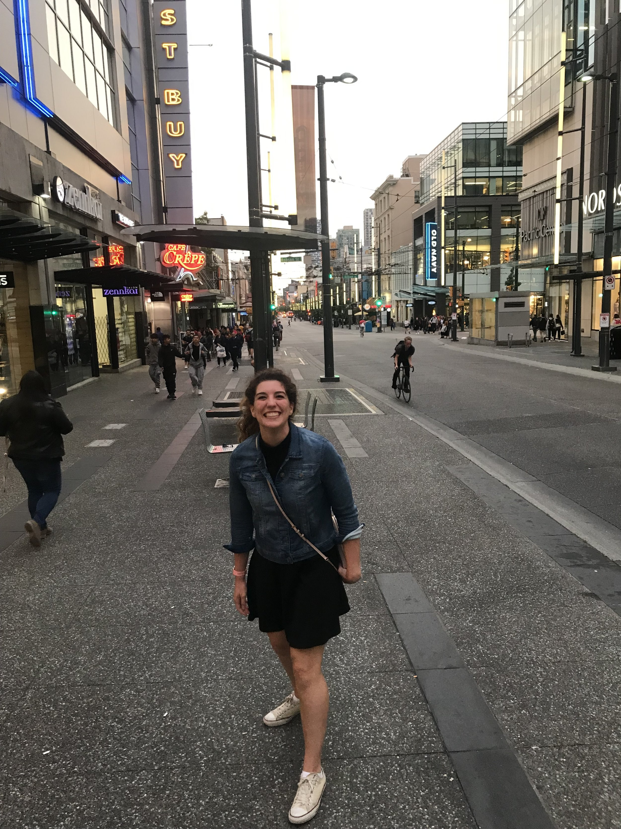 Amanda adventuring while attending the AADR/IADR 2019 Conference in Vancouver, Canada