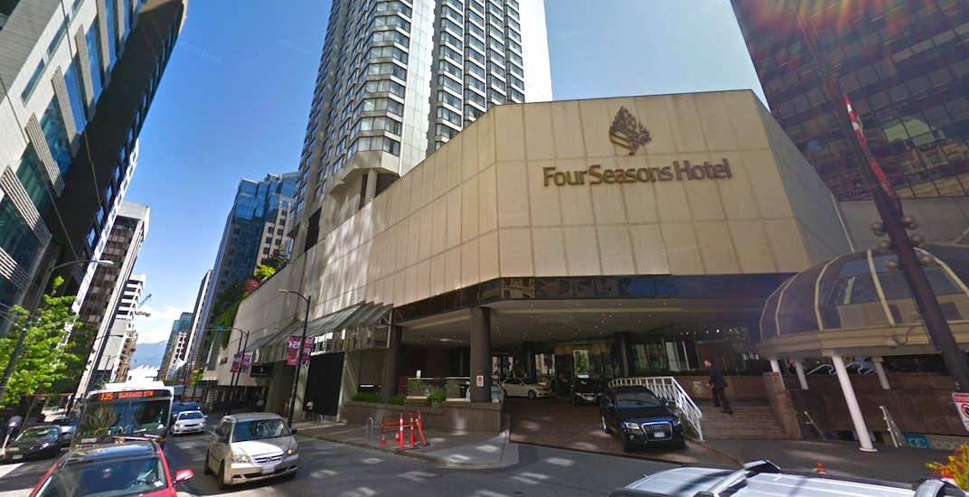 Four Seasons Hotel Vancouver (Source: Google Street View)