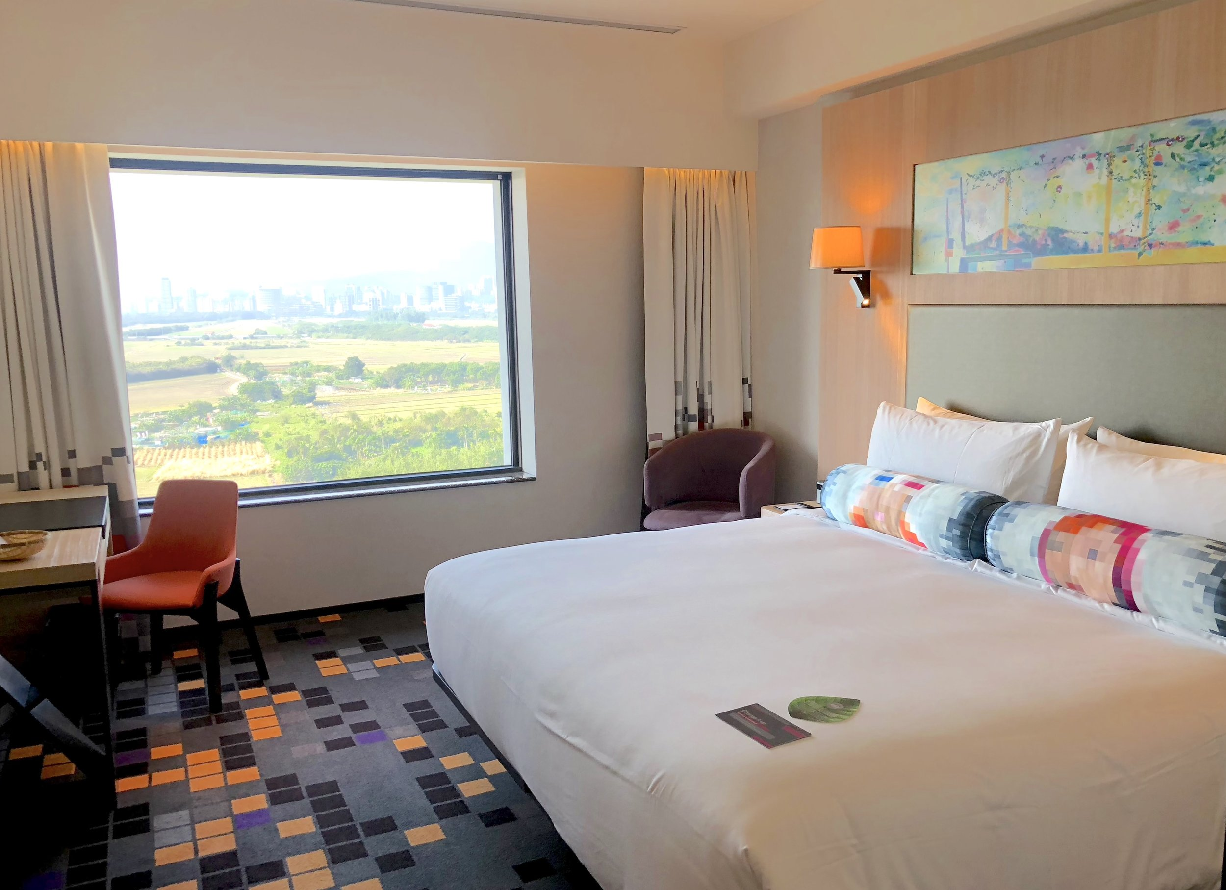 Decent stay at Aloft Beitou in Taiwan
