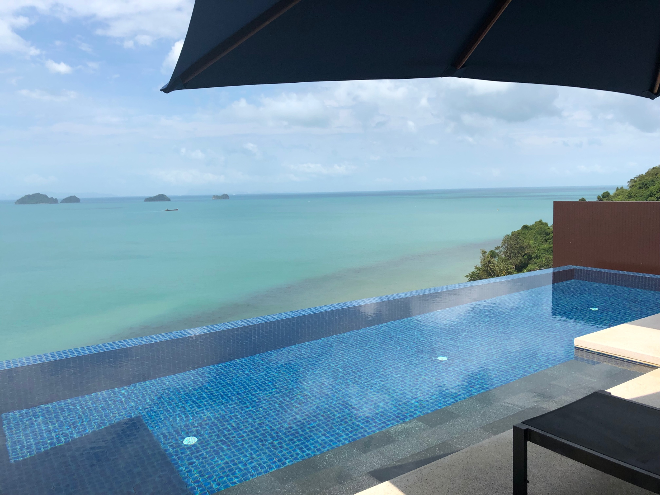 View from one of my stays at a Hilton aspirational property, Conrad Koh Samui.