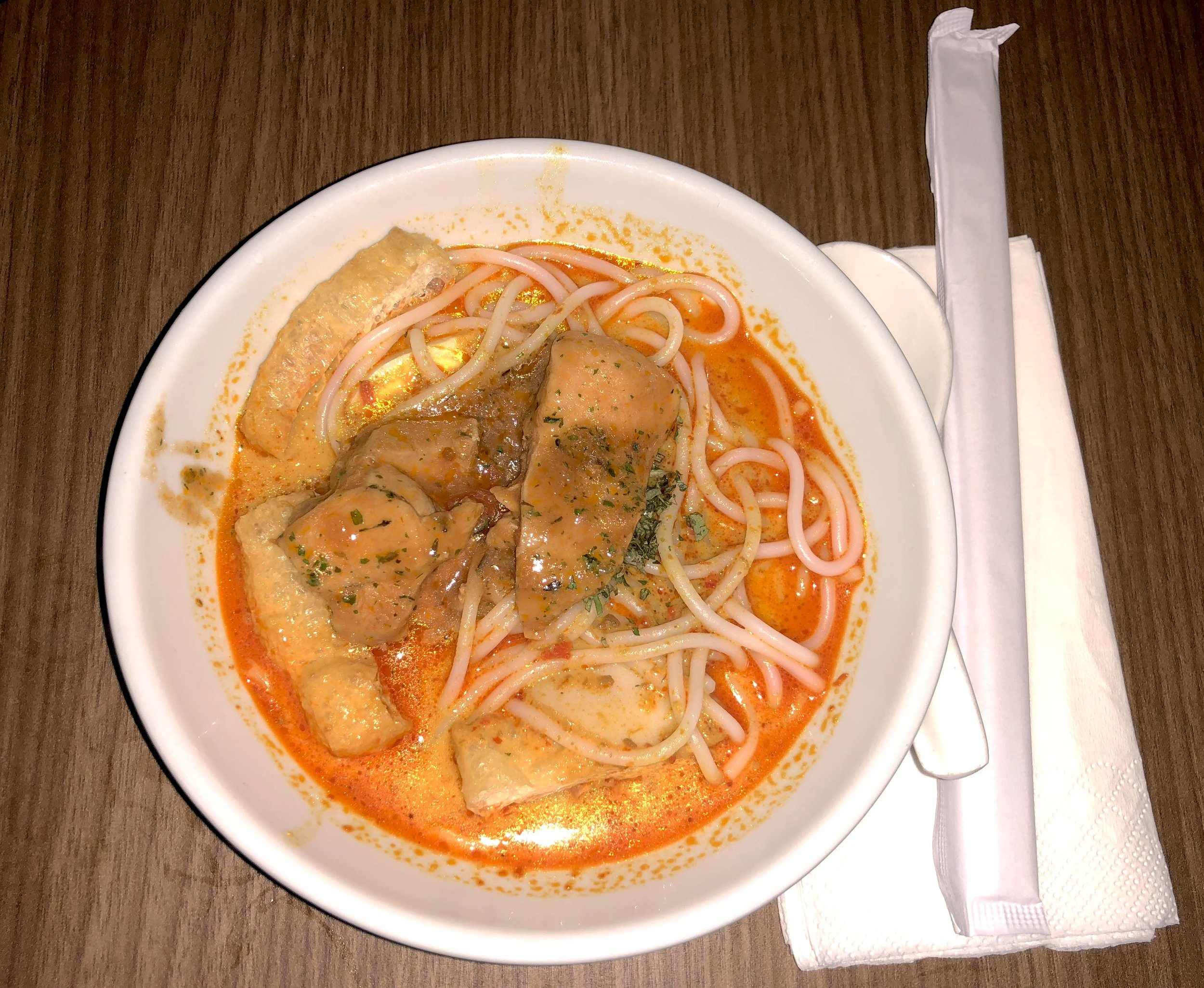 My own laksa after I diligently followed the instructions!