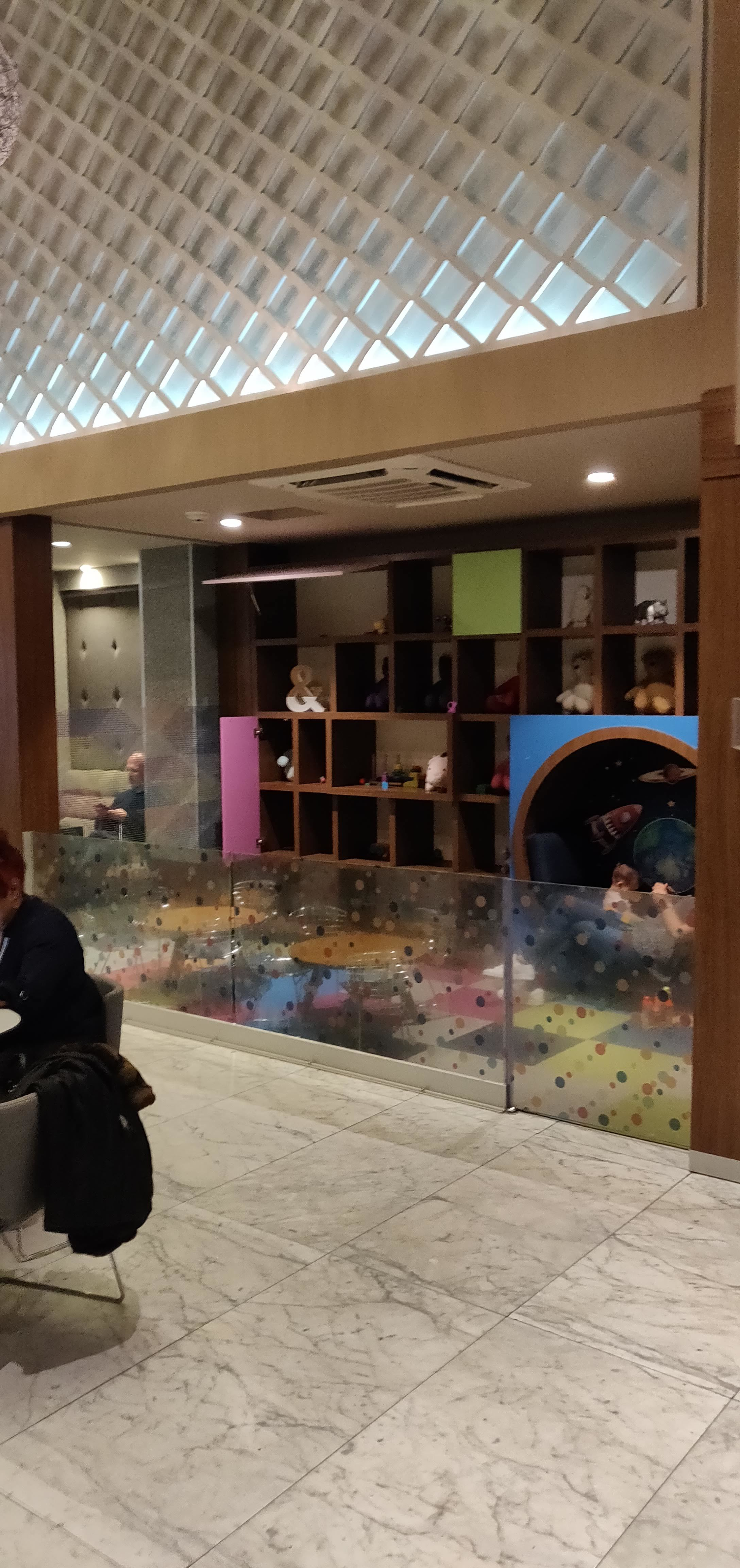 Centurion Lounge Mexico City - Downstairs Play Area