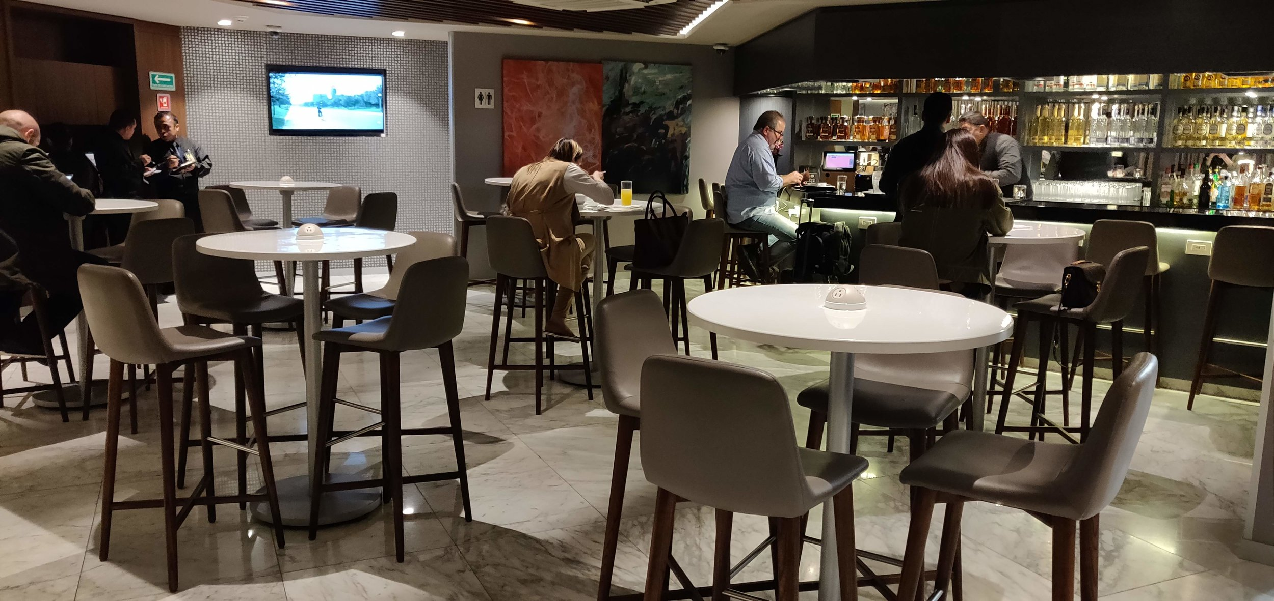Centurion Lounge Mexico City - Downstairs Seating