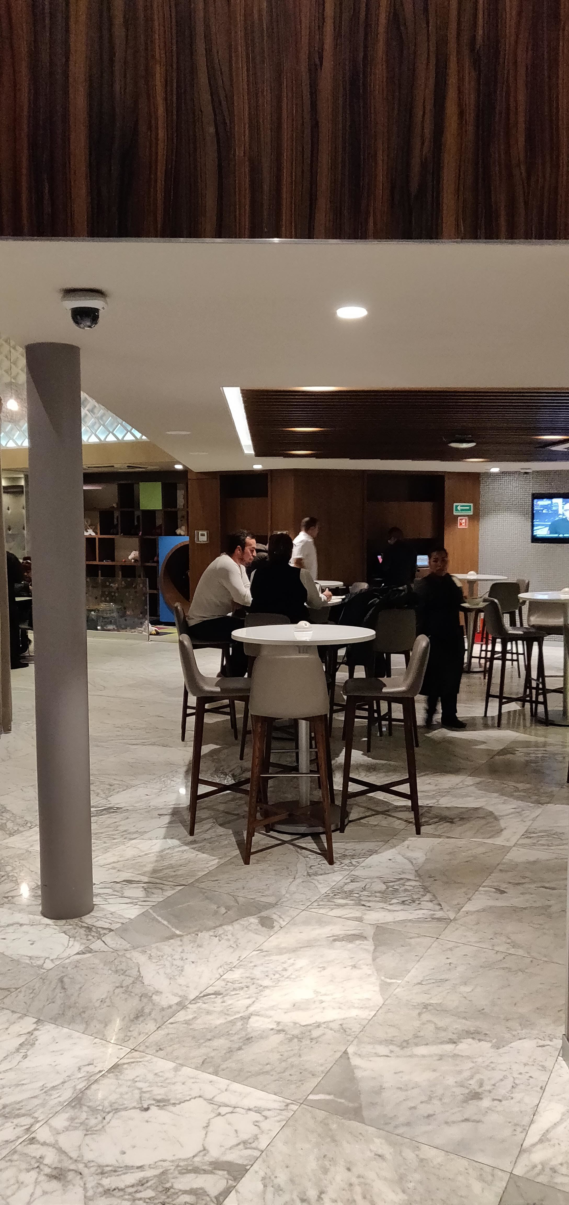 Centurion Lounge Mexico City - Downstairs Dining
