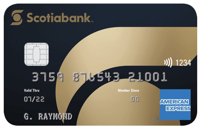 Potential New Scotiabank Gold American Express Card Design