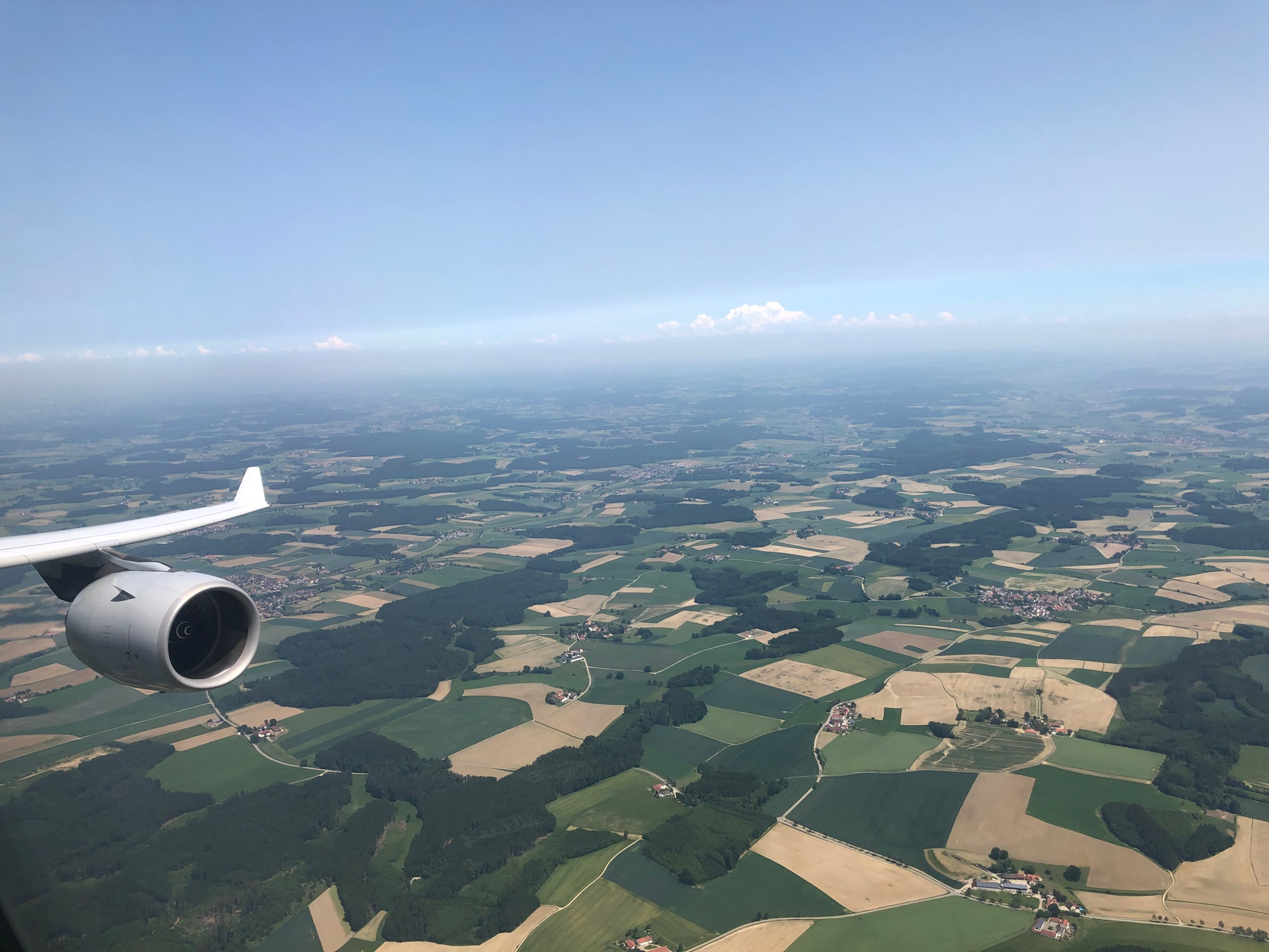 Descending into Munich