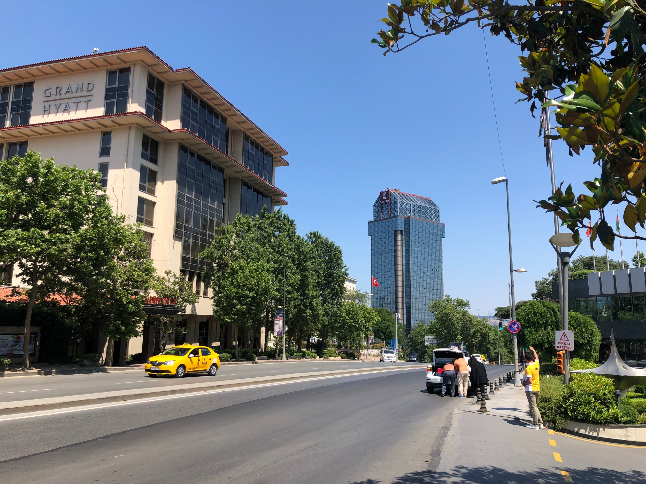 Ritz-Carlton Istanbul from a distance