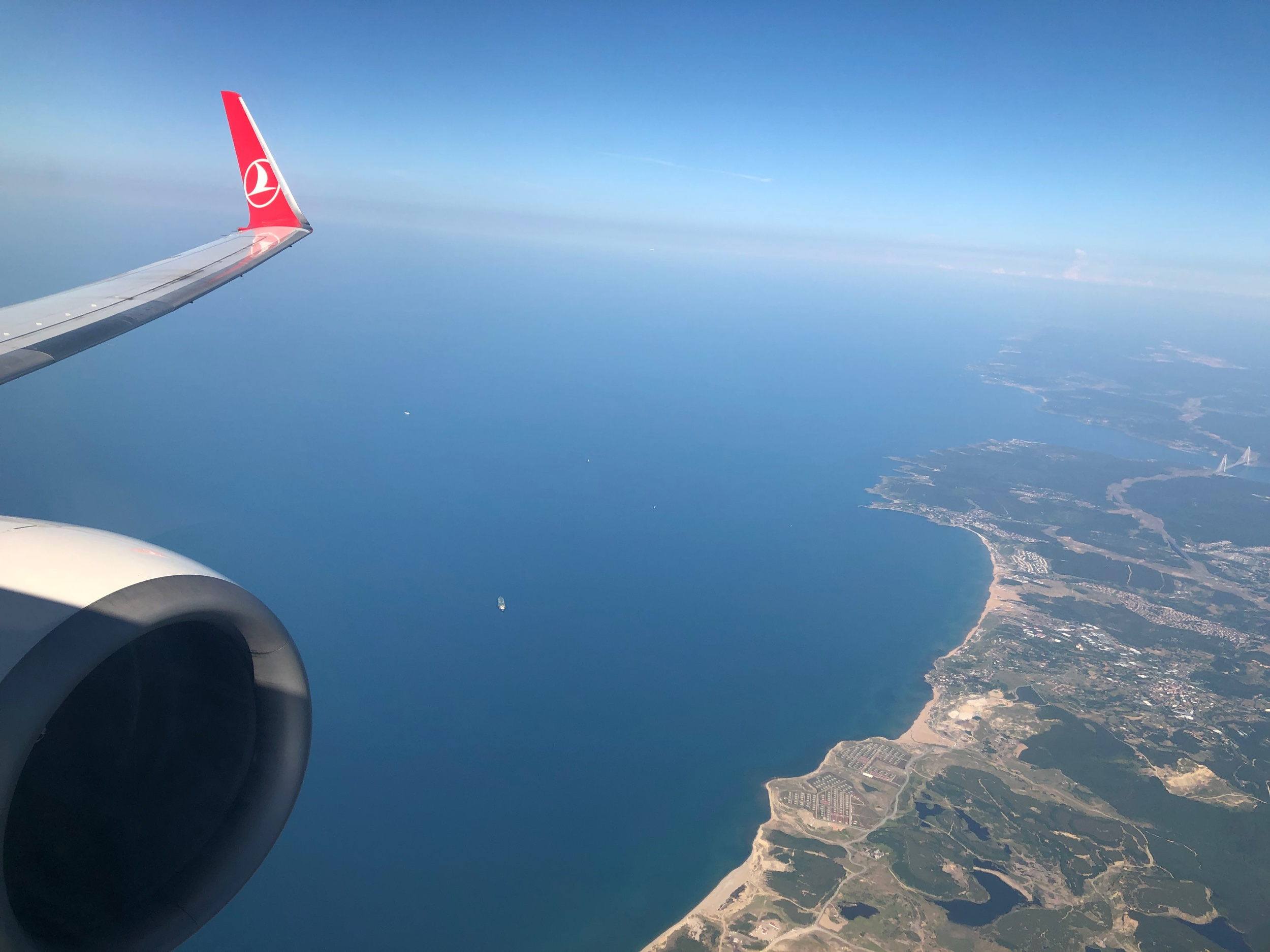 Turkish Airlines Business Class Flight - IST to BJV