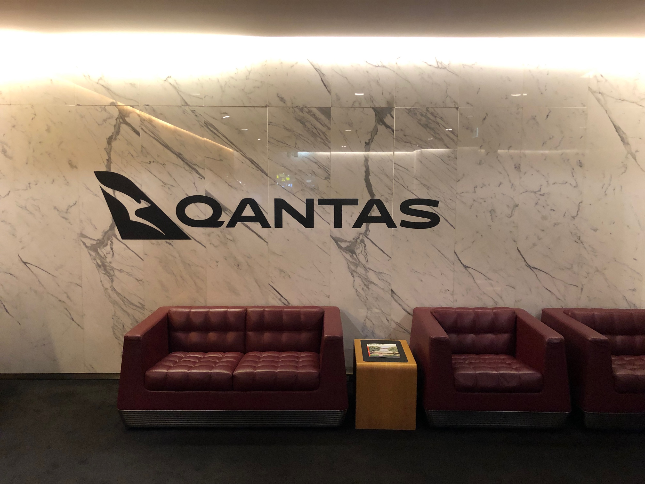 Qantas First Class Lounge Melbourne - Check-In Lounge