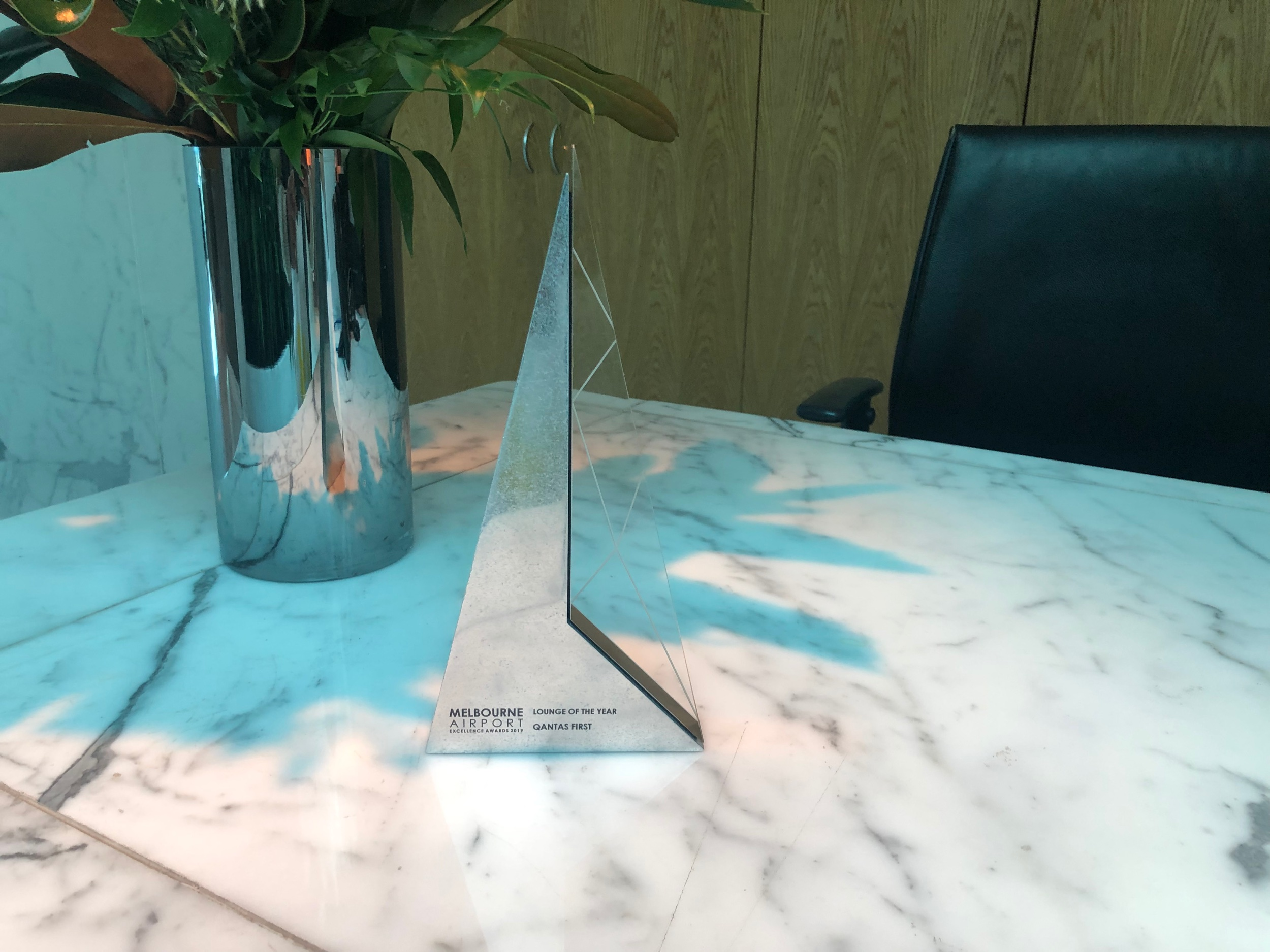 Qantas First Class Lounge Melbourne - Lounge of the Year Award