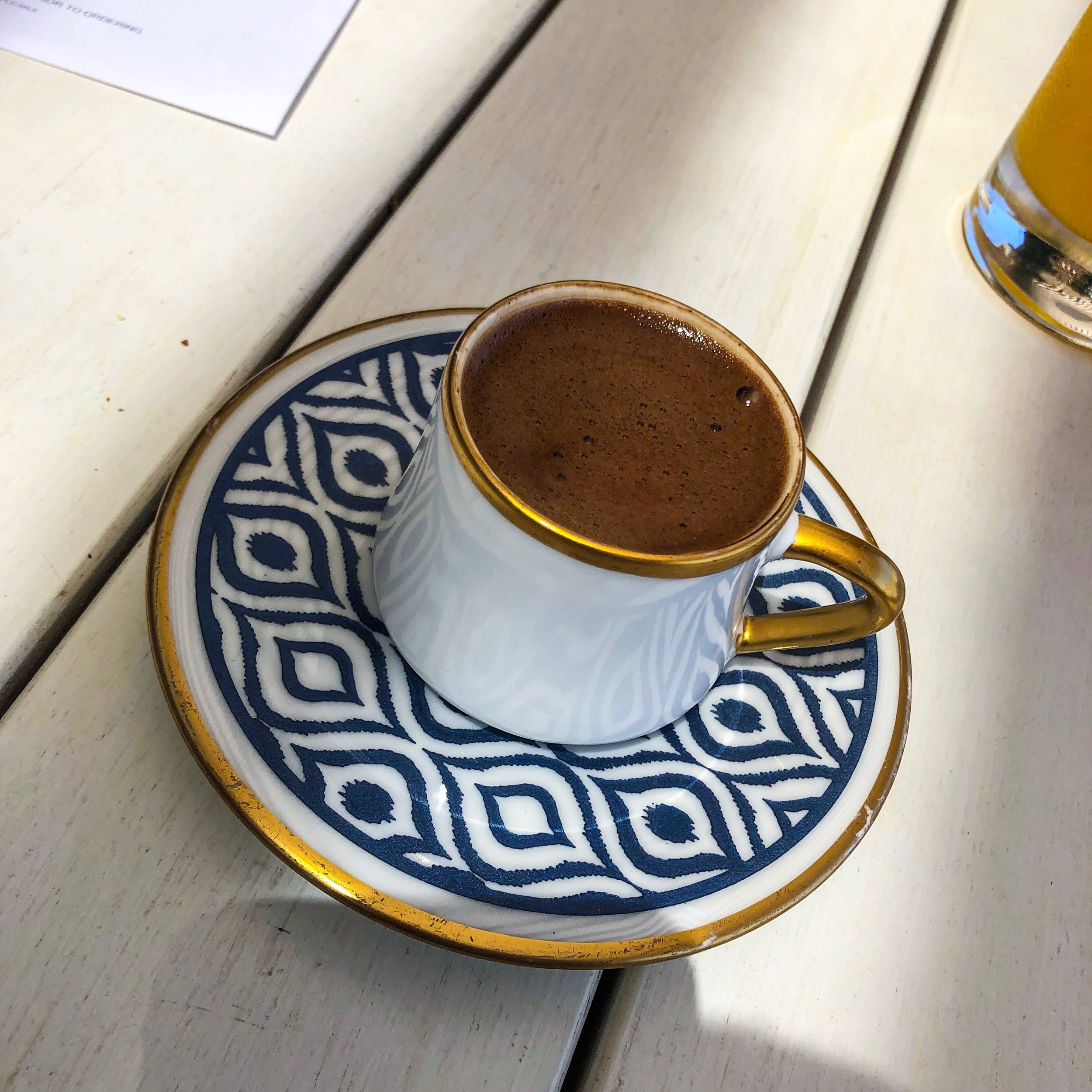 The Bodrum EDITION - Turkish Coffee