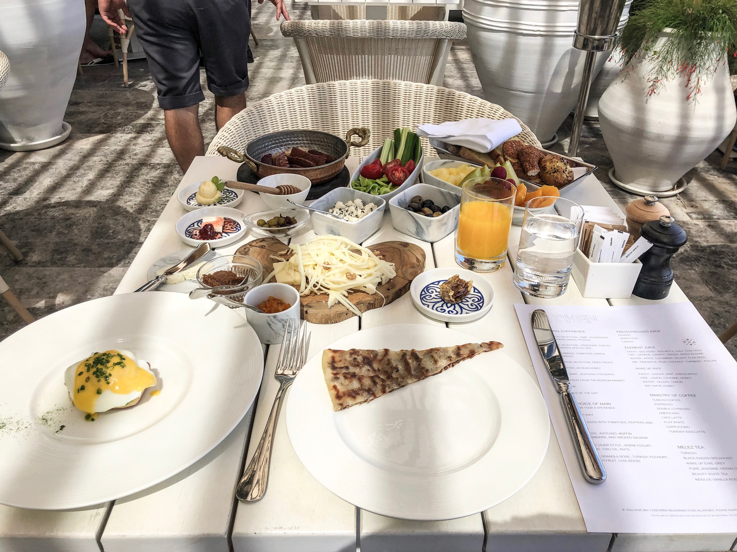 The Bodrum EDITION - Traditional Turkish Breakfast